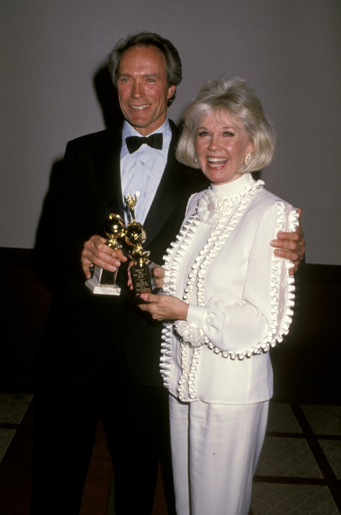 doris day and clint eastwood getty images