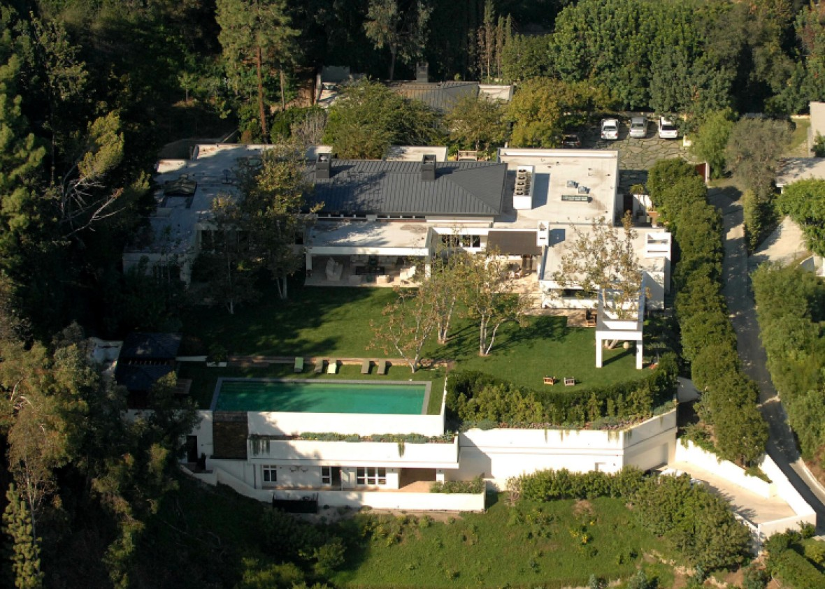 ellen degeneres beverly hills estate