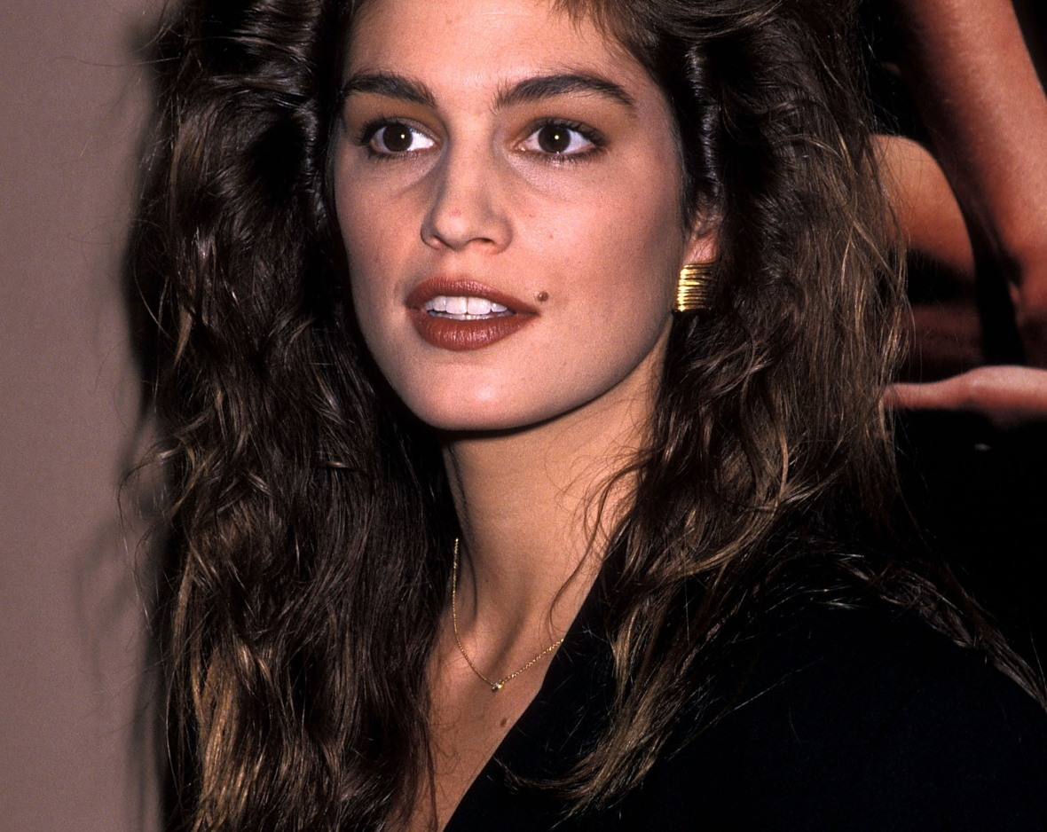 cindy crawford 1990 getty