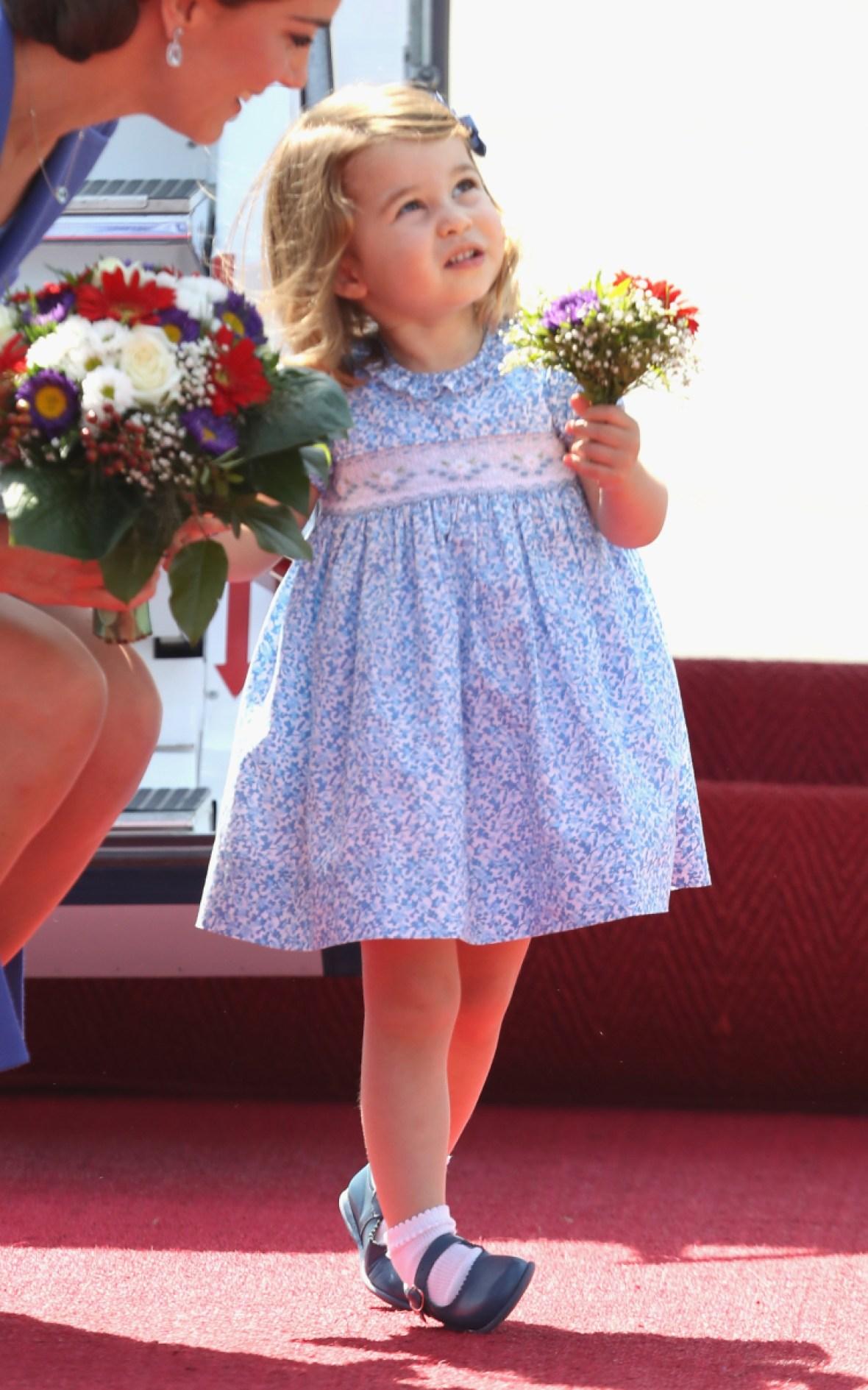 kate middleton princess charlotte germany