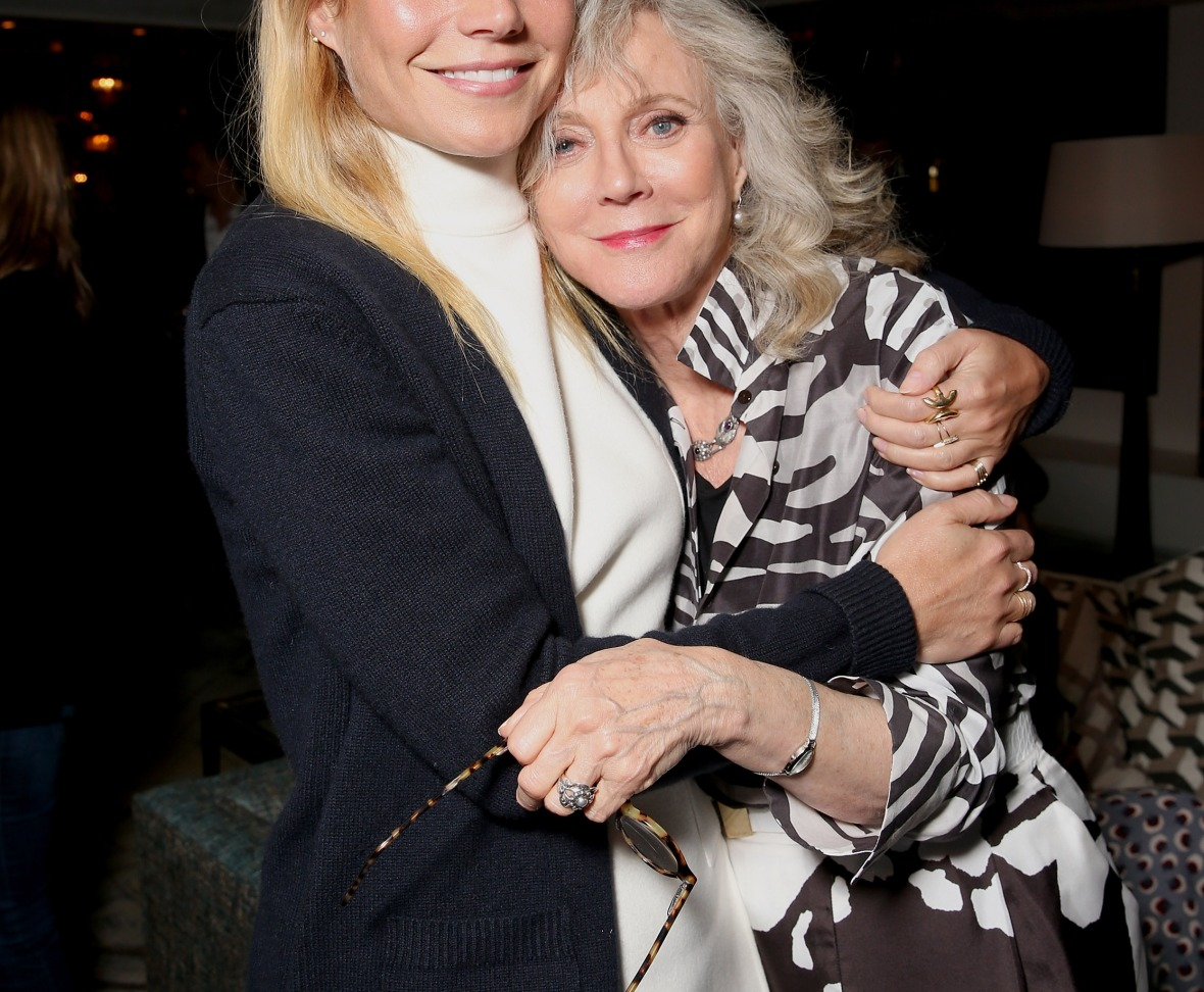 gwyneth paltrow and blythe danner getty images