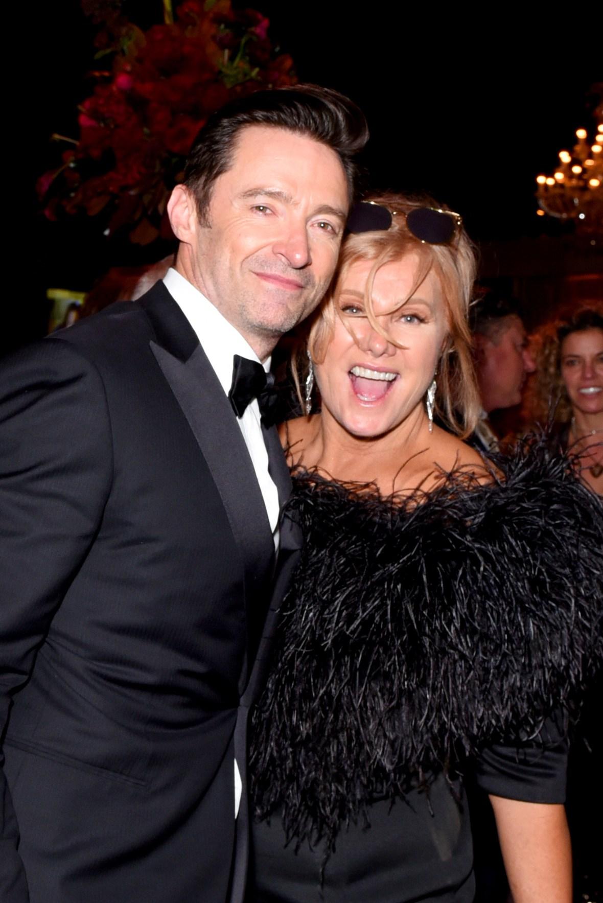 hugh jackman and his wife deborah getty images