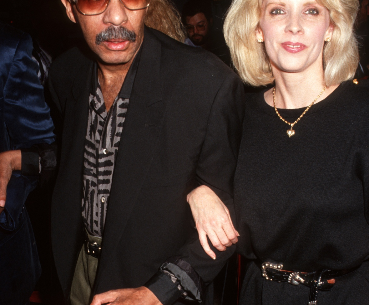 richard pryor and his ex-wife jennifer getty images