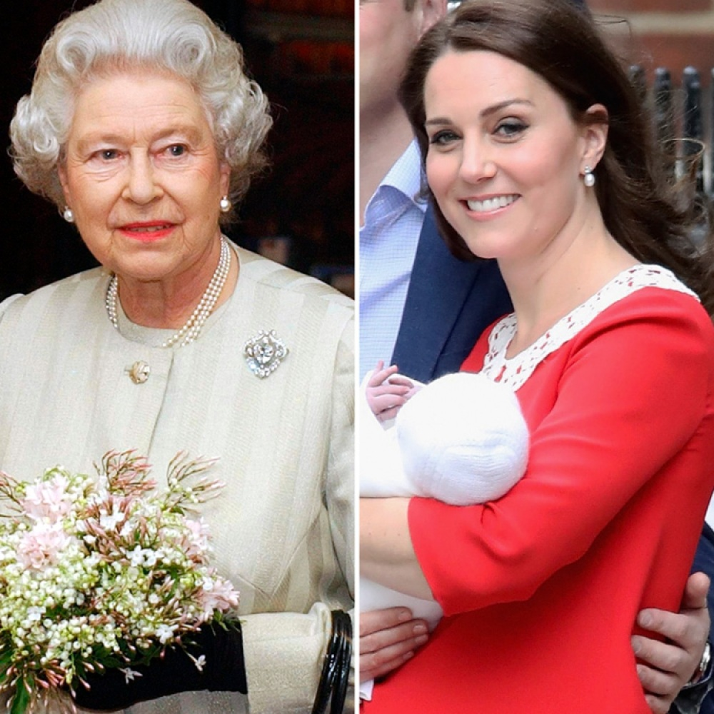 kate middleton and queen elizabeth getty images