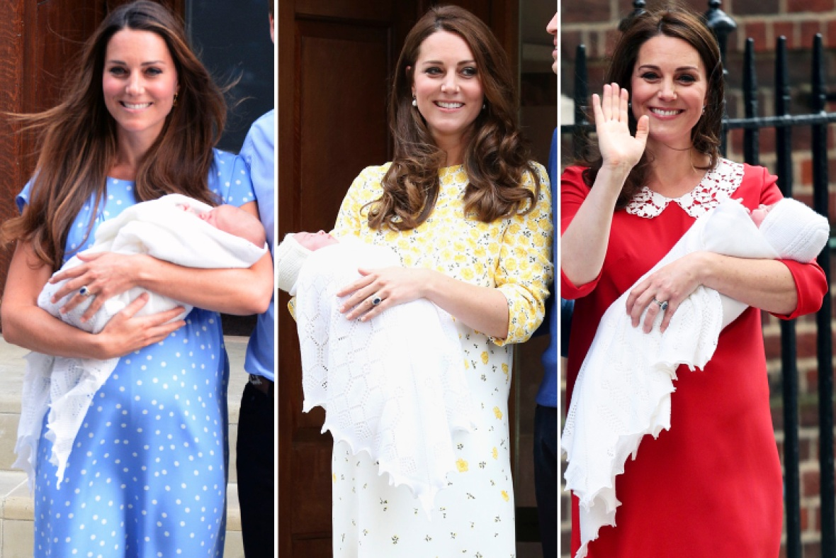 kate middleton royal baby births getty images