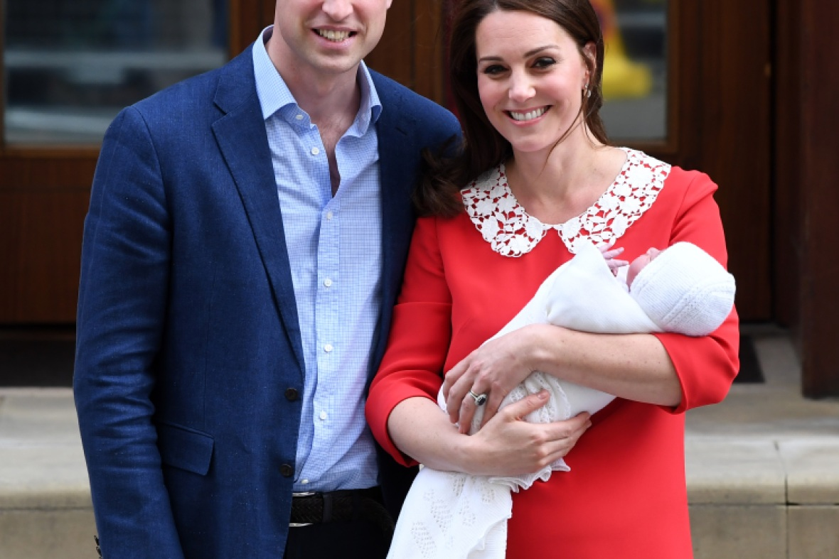 kate middleton prince william son getty images