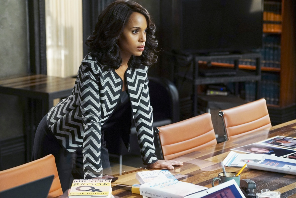 kerry washington 'scandal' getty images