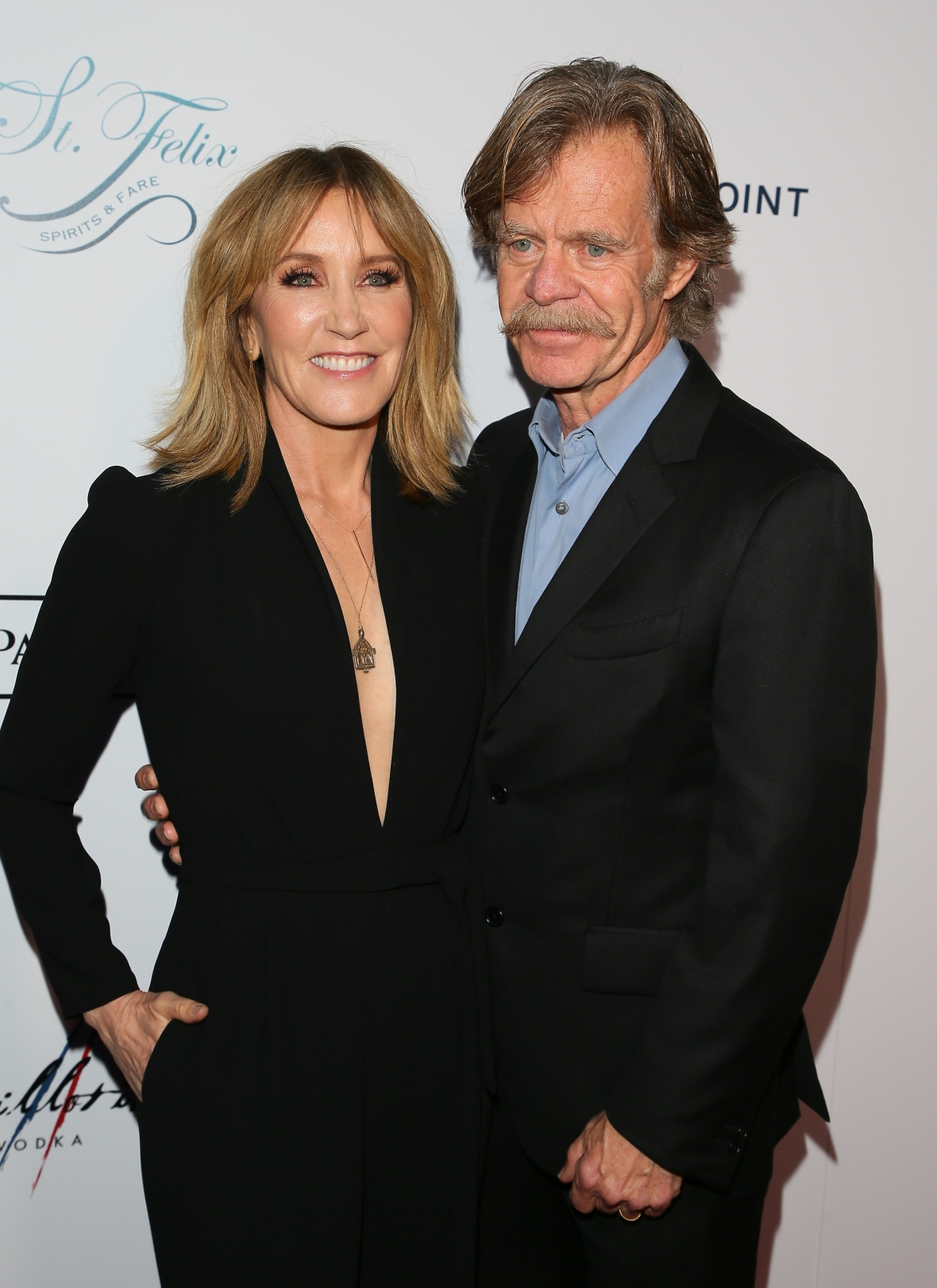 felicity huffman and william h. macy getty images