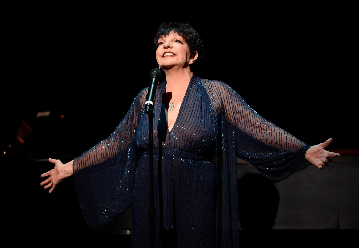 liza minnelli singing getty images