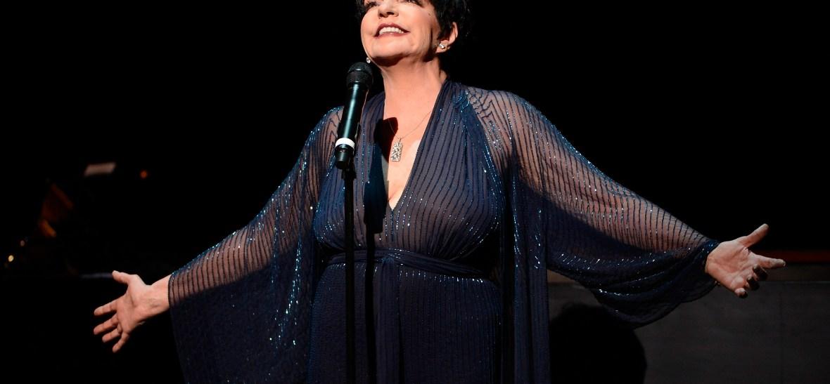 liza minnelli singing getty images