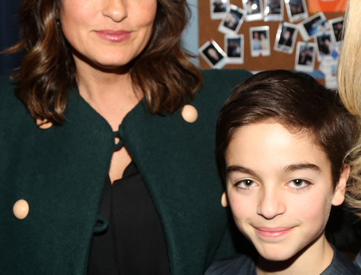 mariska hargitay son getty images