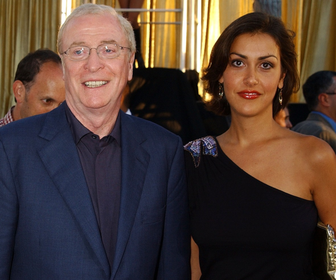 michael caine and his daughter getty images