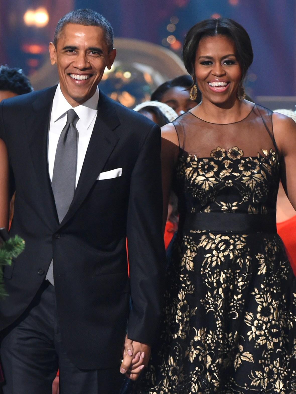 michelle obama barack obama getty images