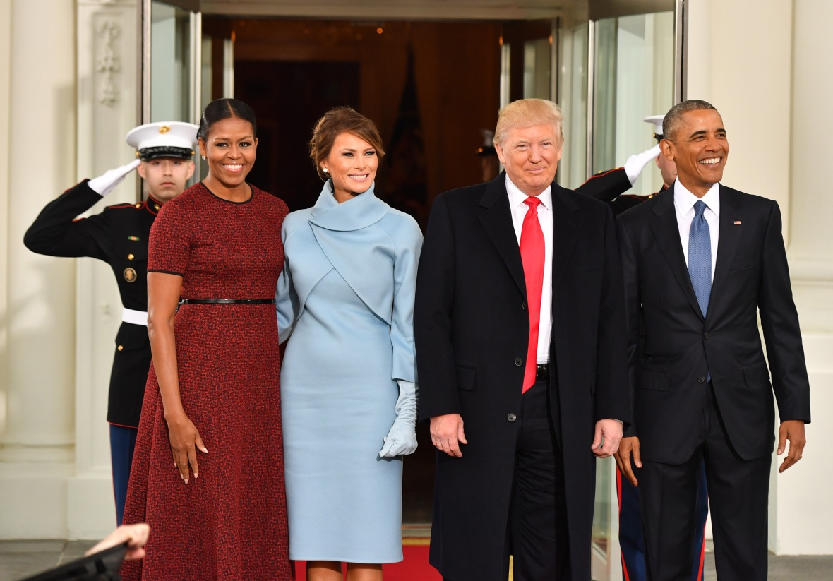 michelle obama melania trump getty images