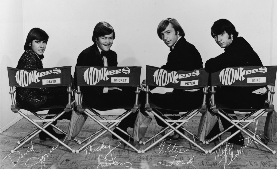 micky dolenz - monkees group shot