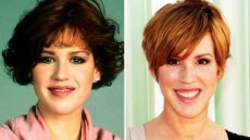 Molly Ringwald Then and Now Photo