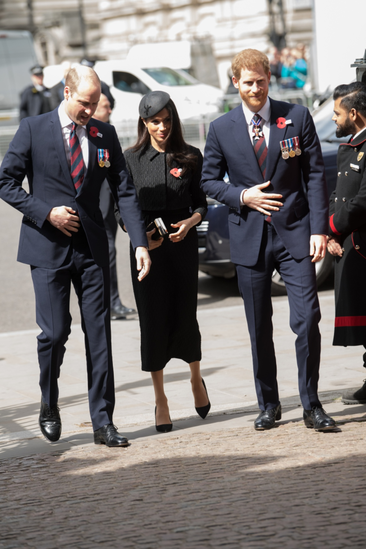 prince harry meghan markle prince william getty images