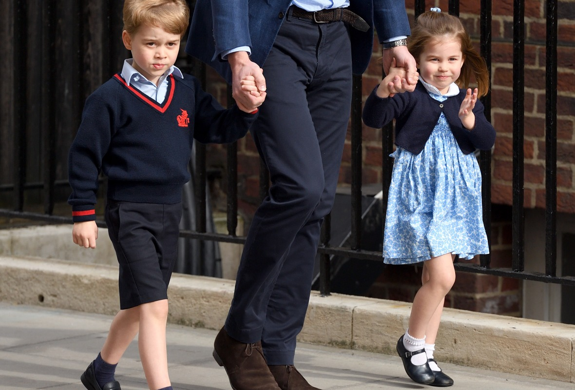 princess charlotte prince george getty images