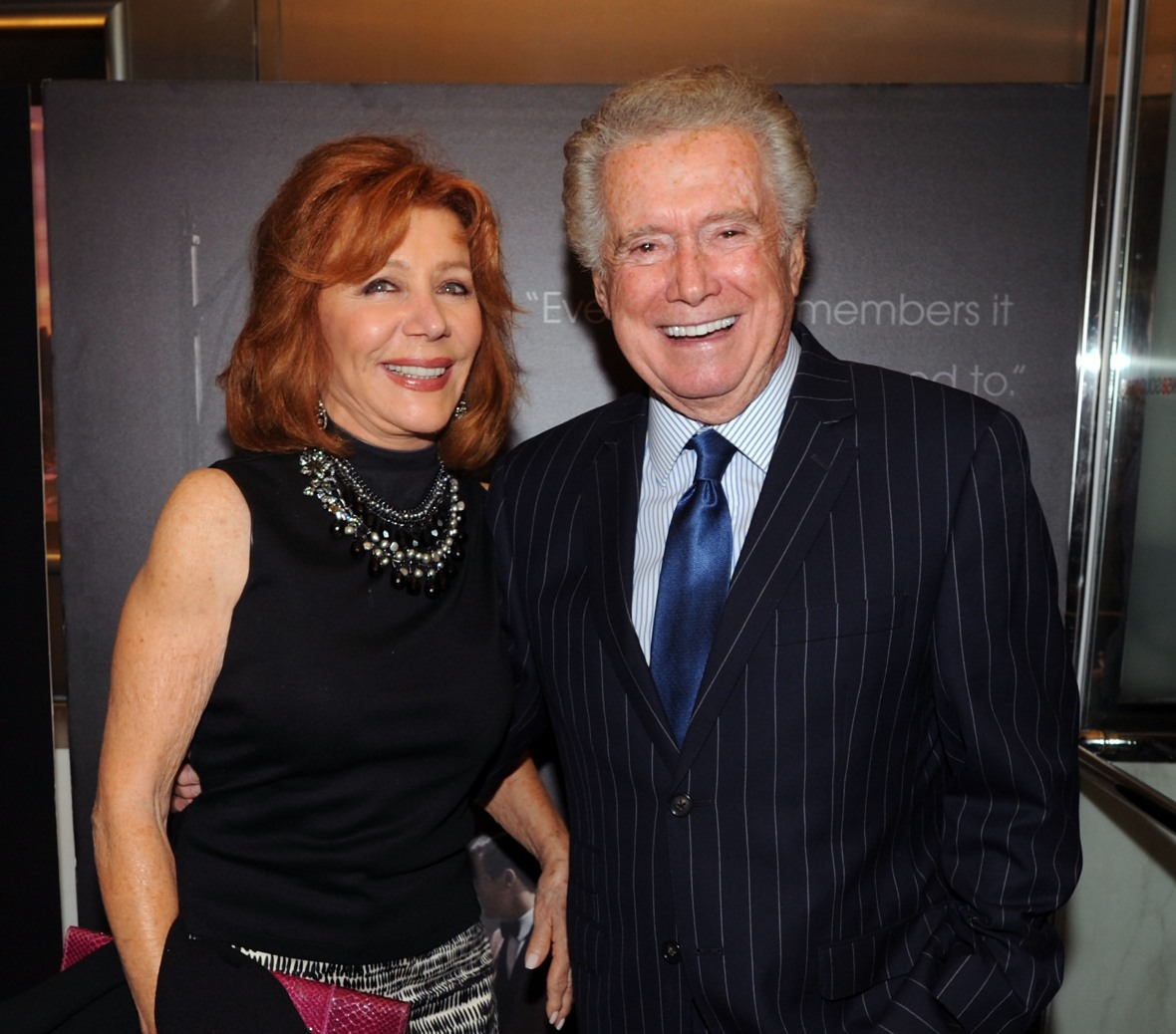 regis philbin joy philbin getty images