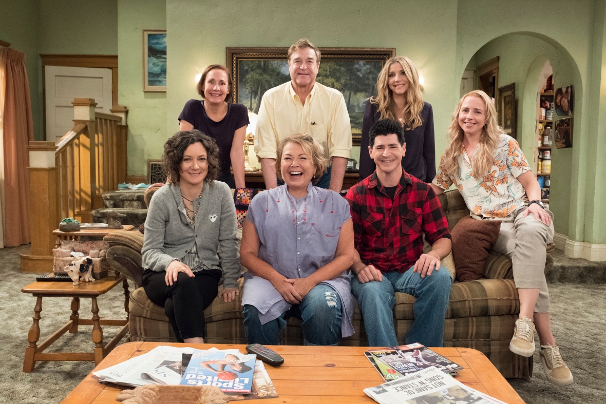 roseanne reboot cast getty images