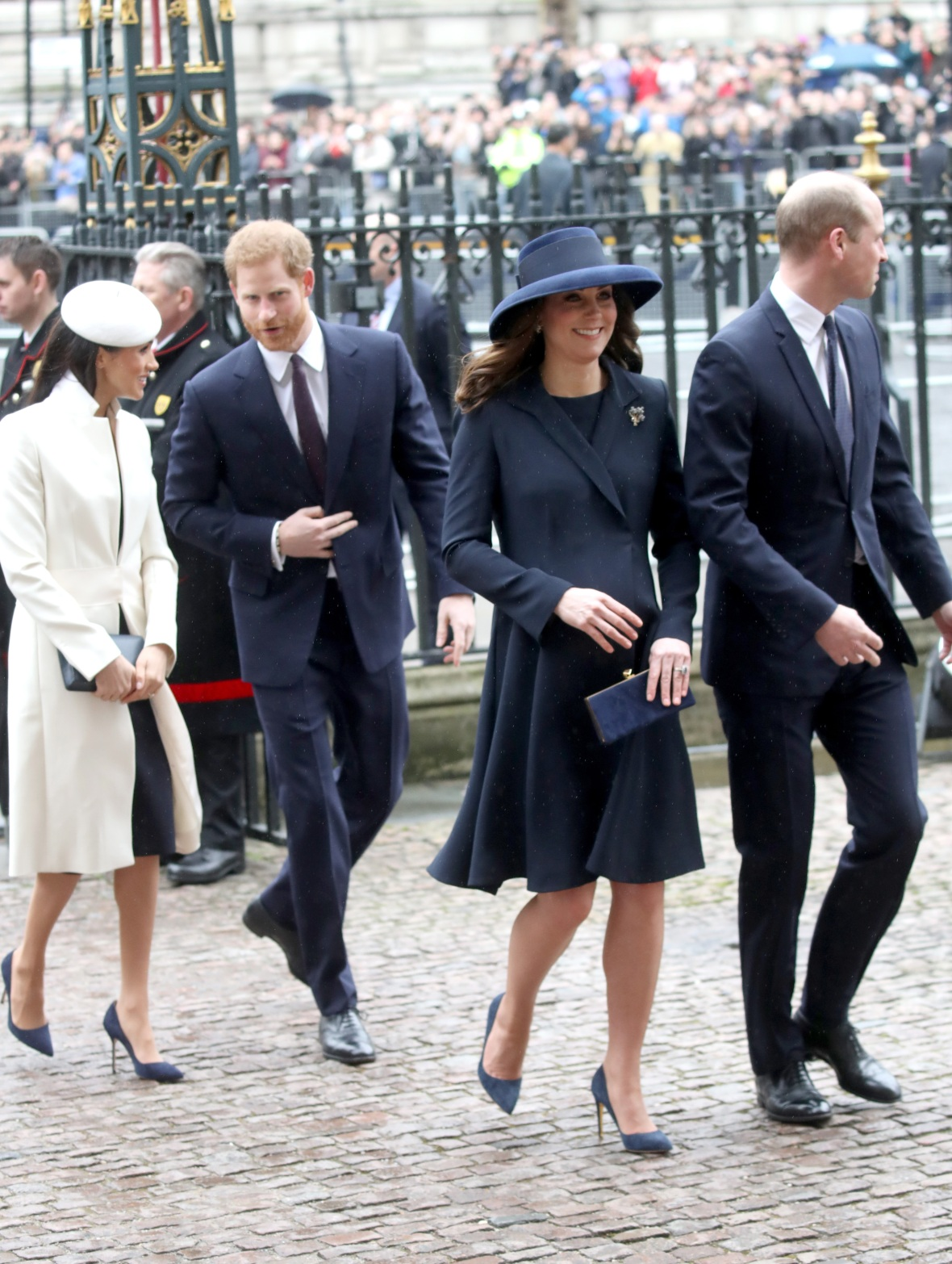 kate middle prince william meghan markle prince harry getty images