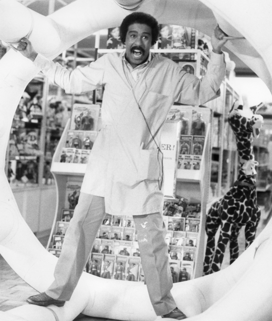 richard pryor in the toy getty images