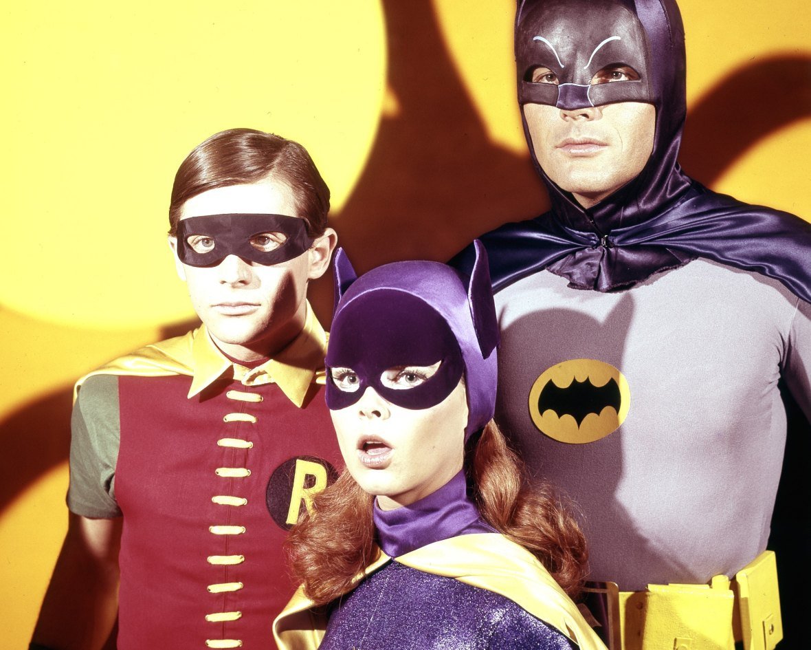 yvonne craig - batman and robin