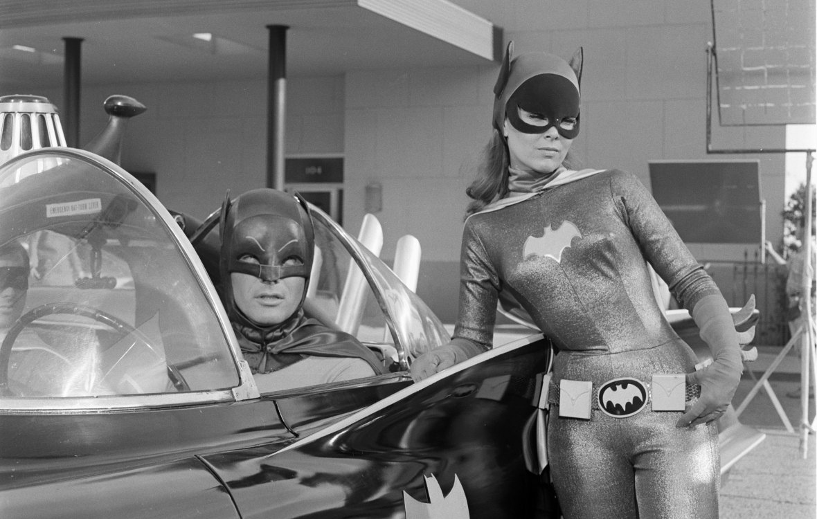 yvonne craig - batmobile