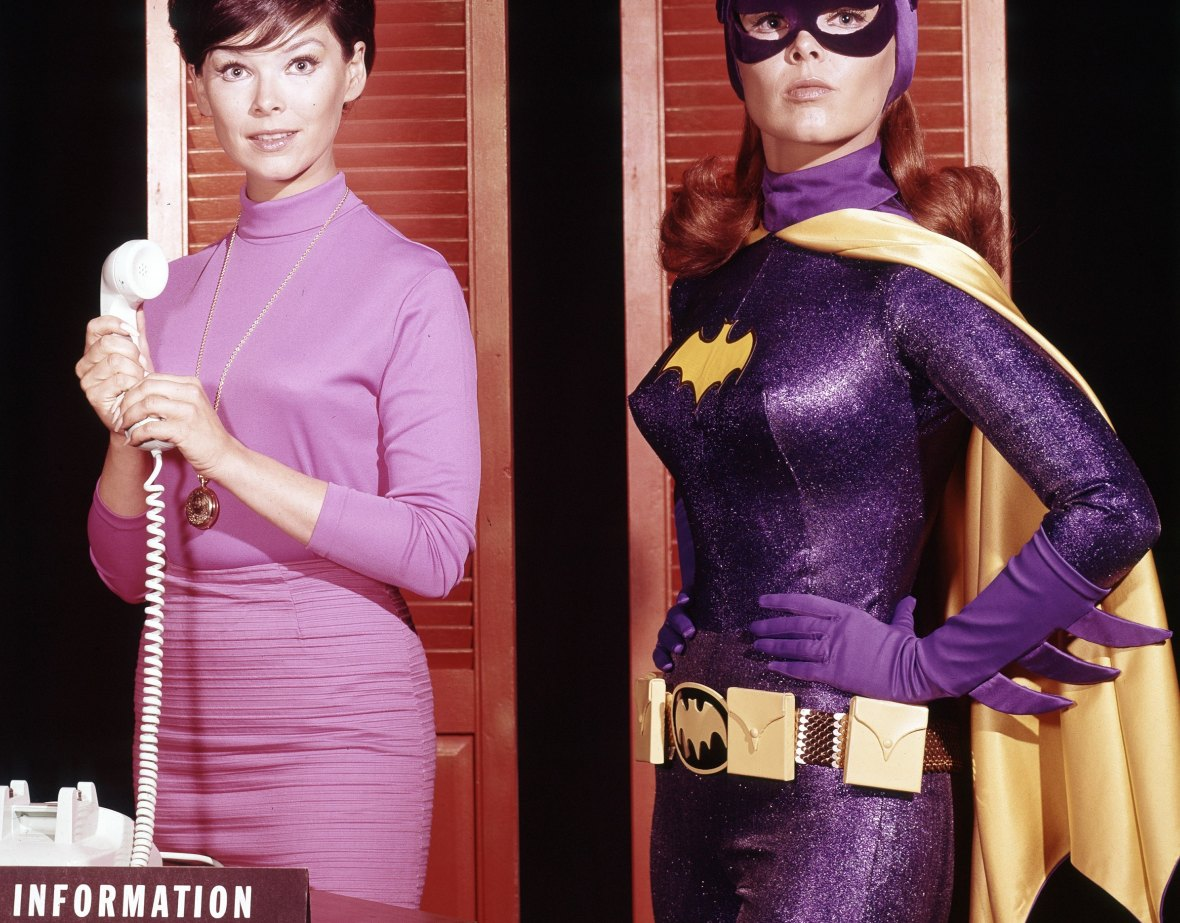 yvonne craig - with batgirl 2