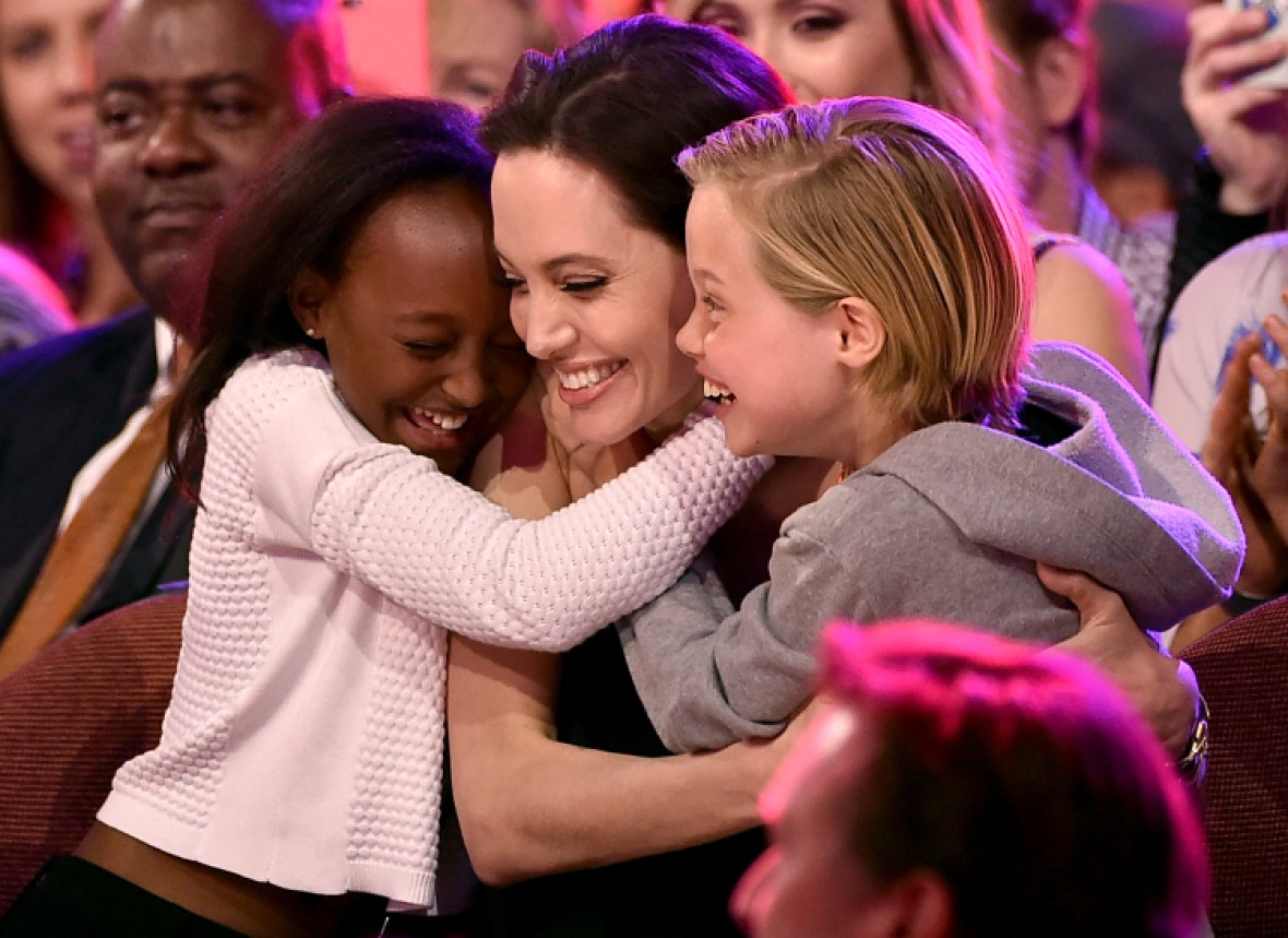 angelina jolie kids getty images
