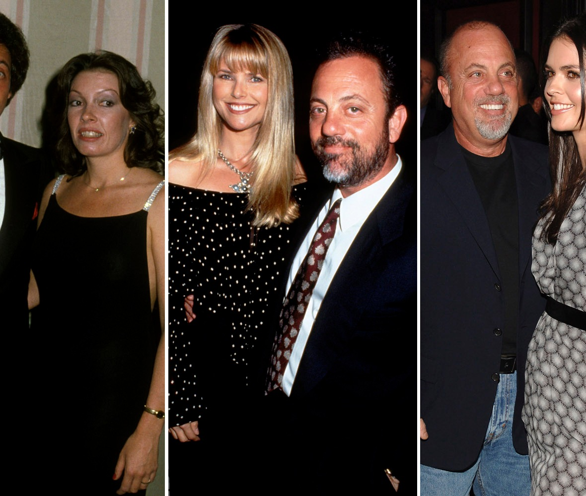 billy joel wives getty images