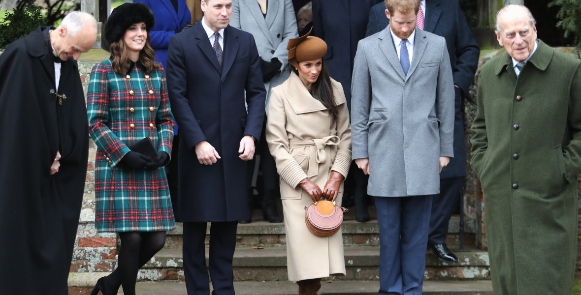 kate middleton meghan markle british royal family curtsy