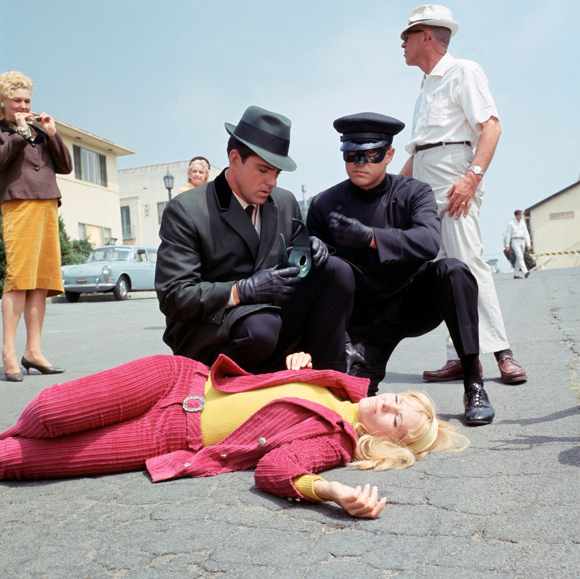 bruce lee - green hornet and kato