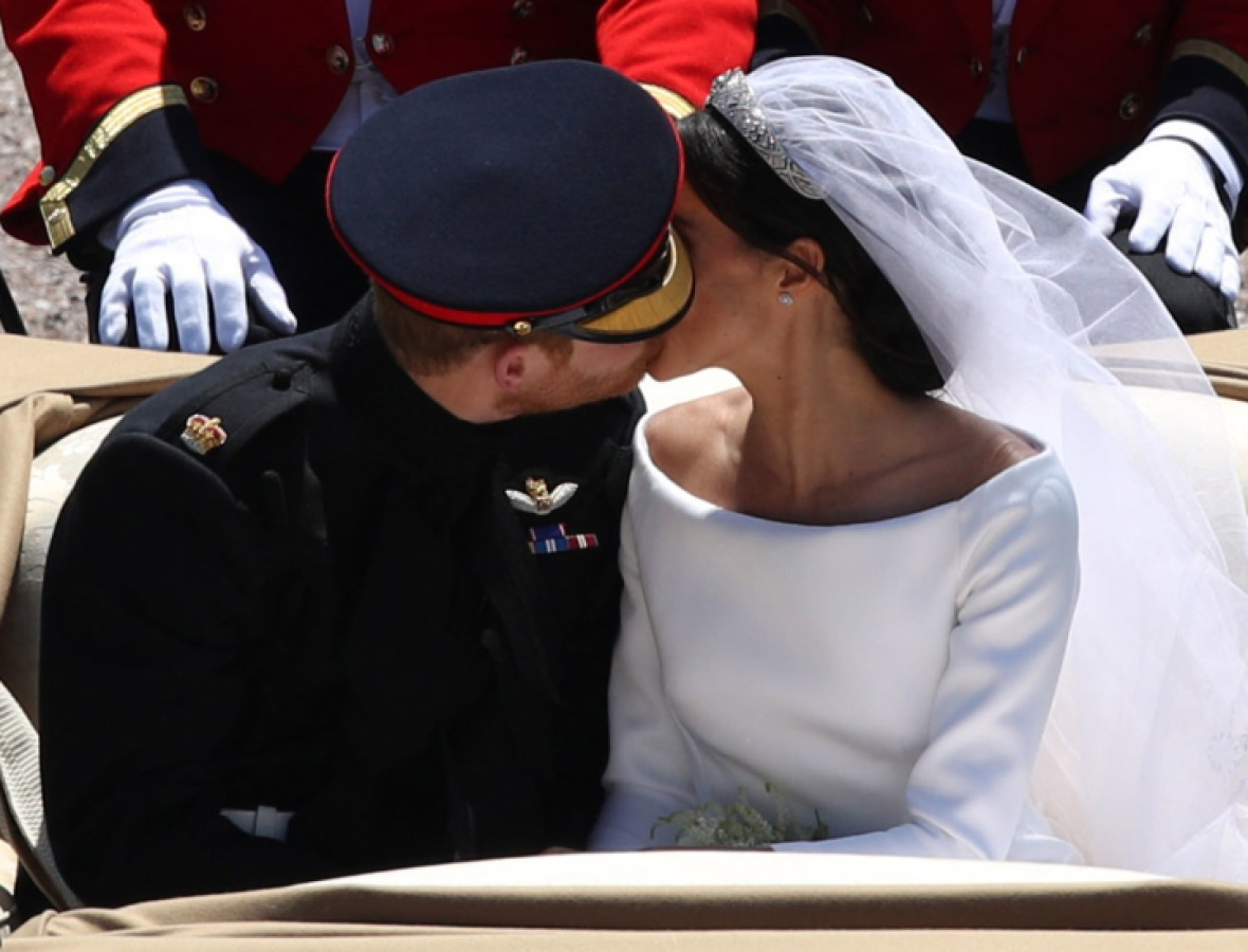 prince harry meghan markle carriage ride getty images