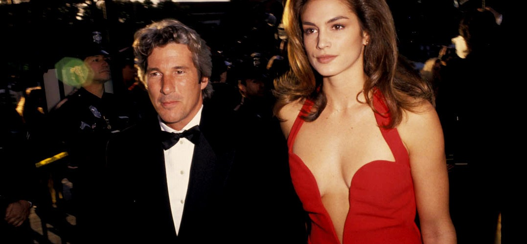 cindy crawford richard gere getty images