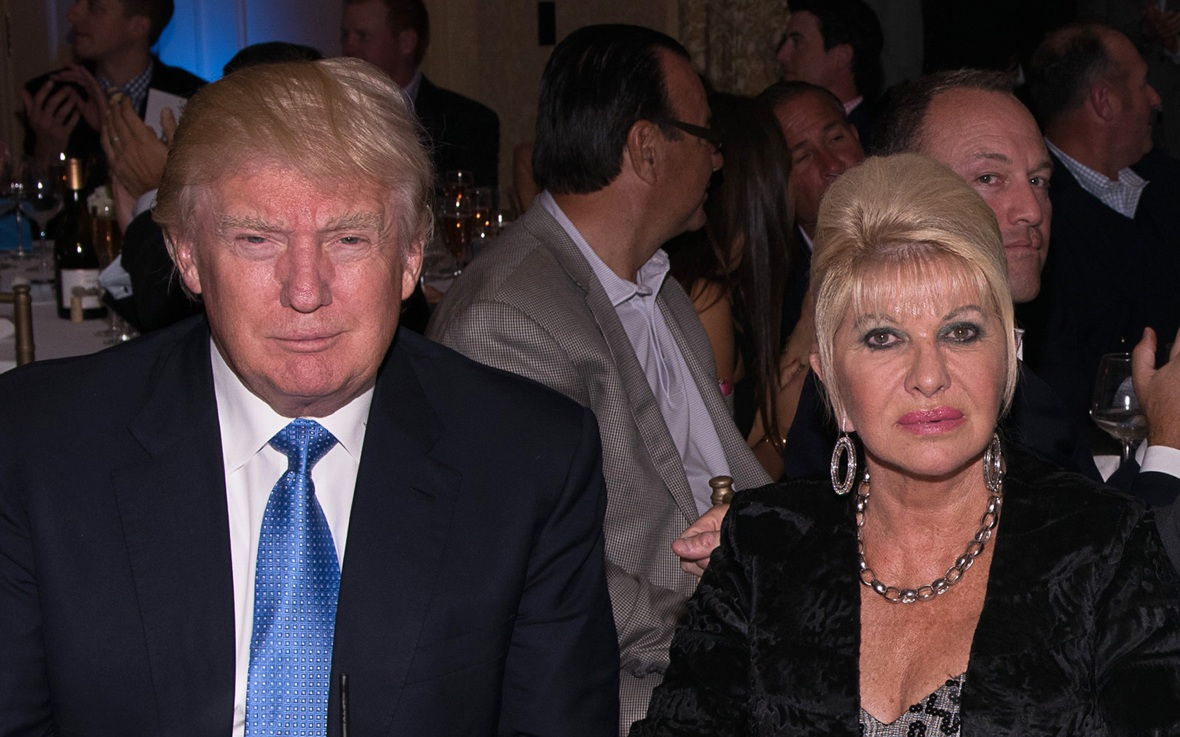 donald trump and ivana trump getty images