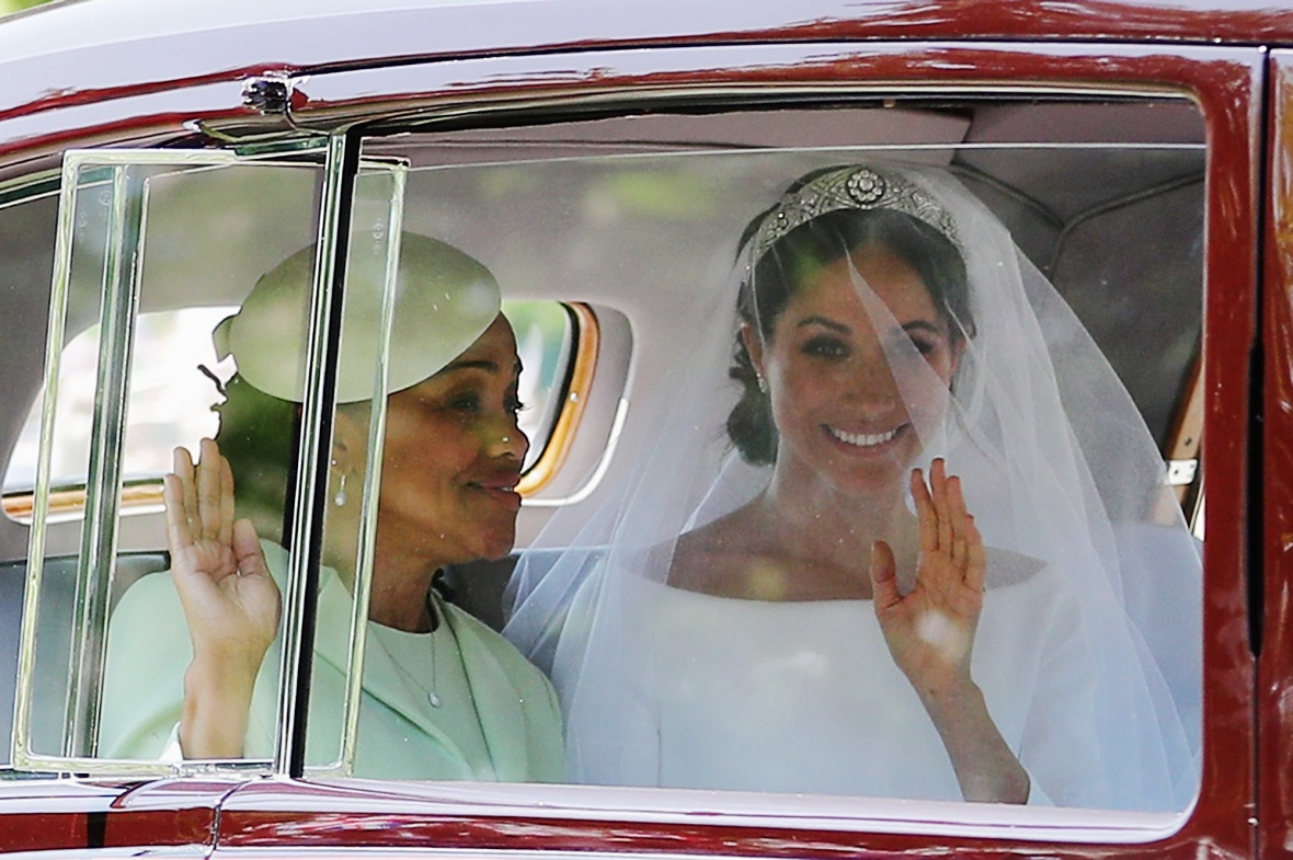 doria ragland meghan markle getty images