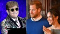 elton-john-prince-harry-meghan-markle-getty