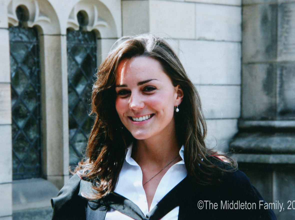 kate middleton st. andrews college