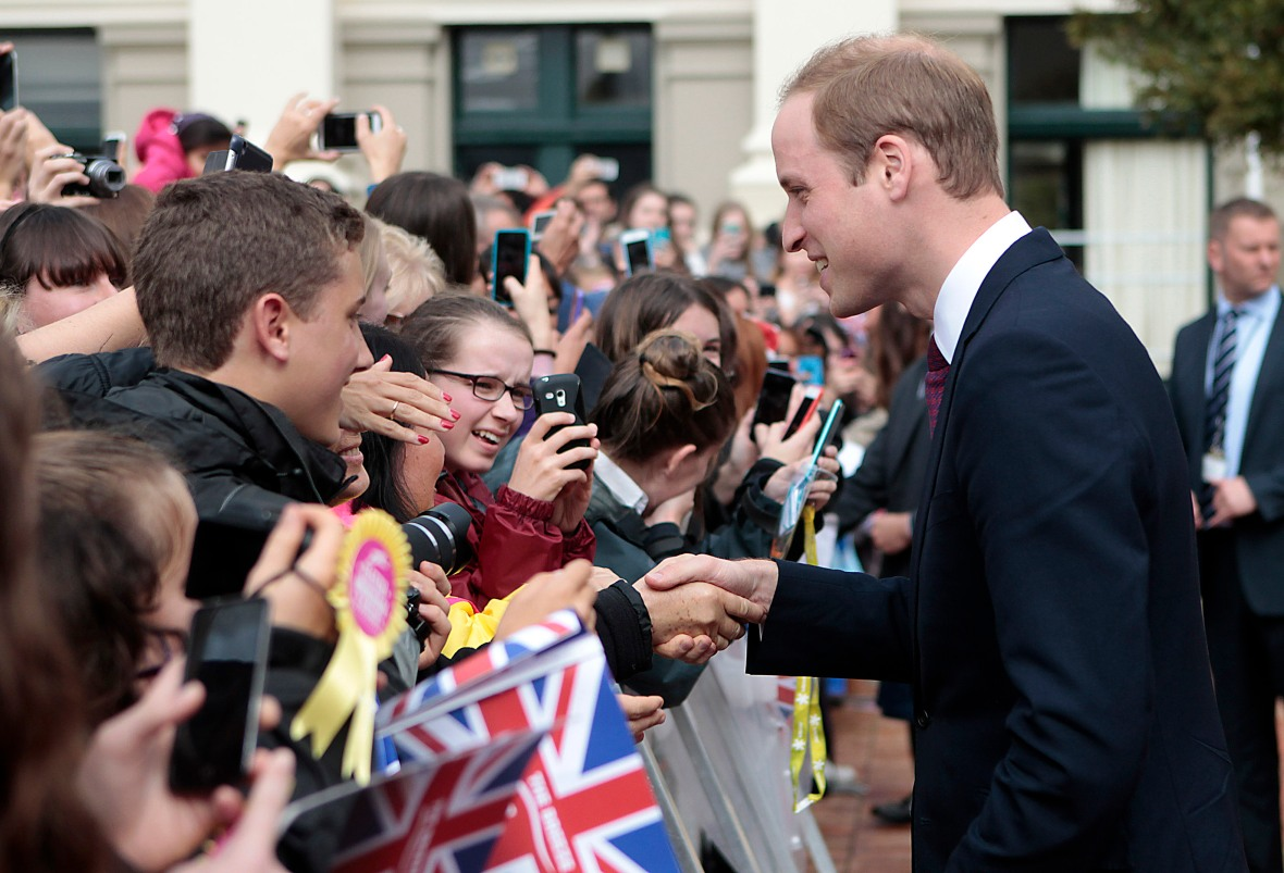 prince william shaking hands