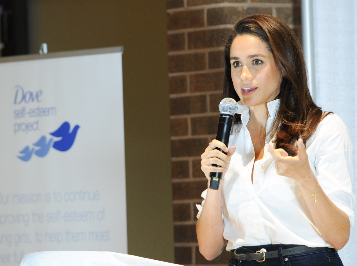 meghan markle activist philanthropy dove self esteem