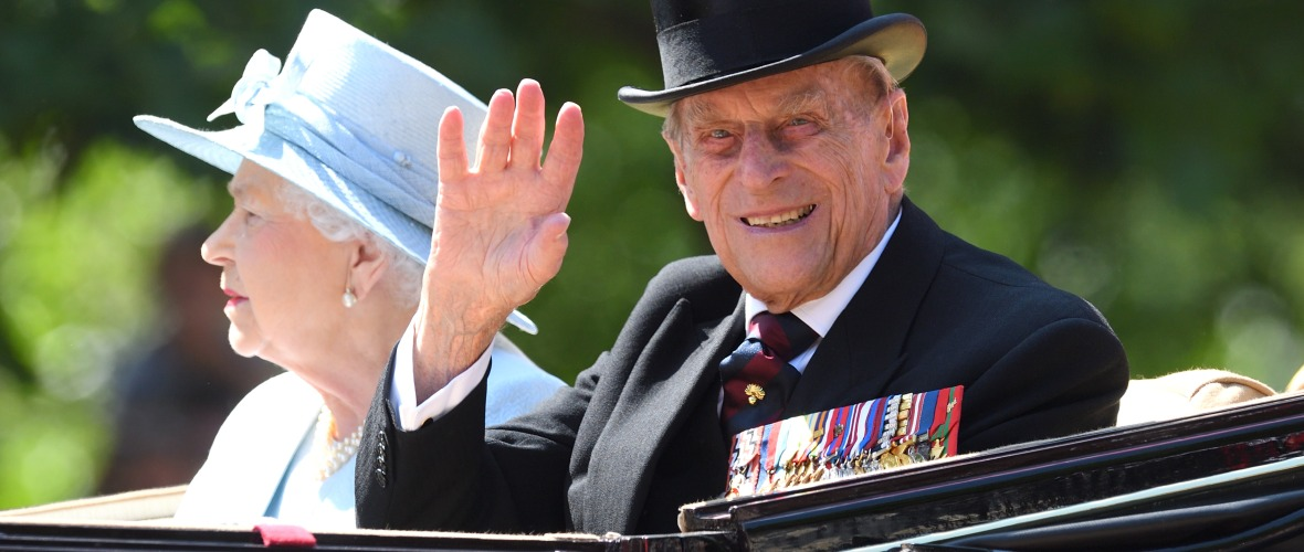 prince philip trooping of the color