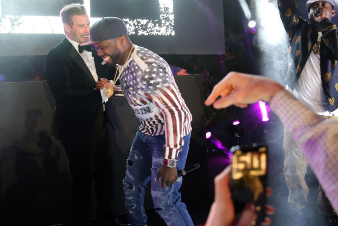john travolta cannes dancing