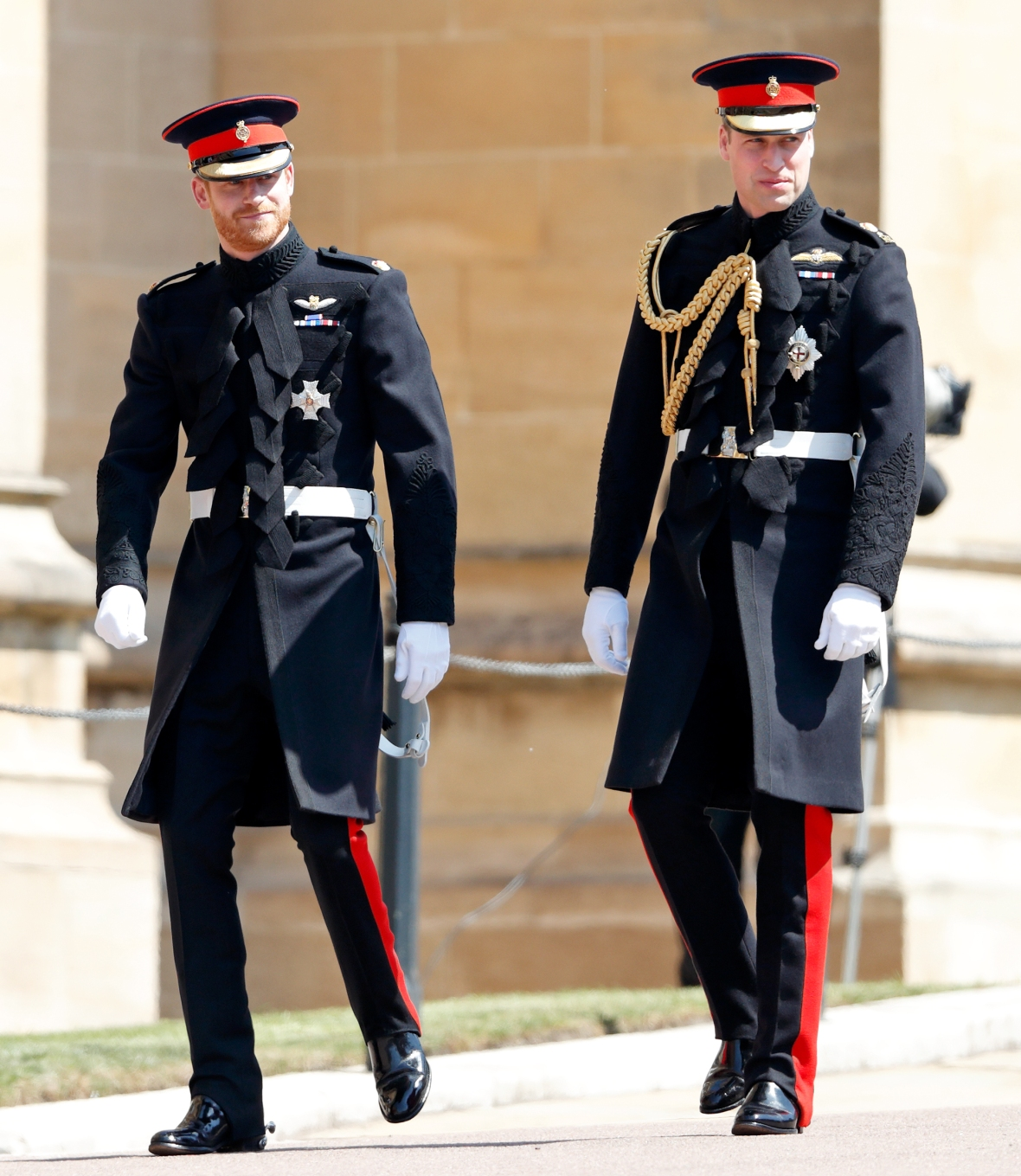 prince harry and prince william getty images