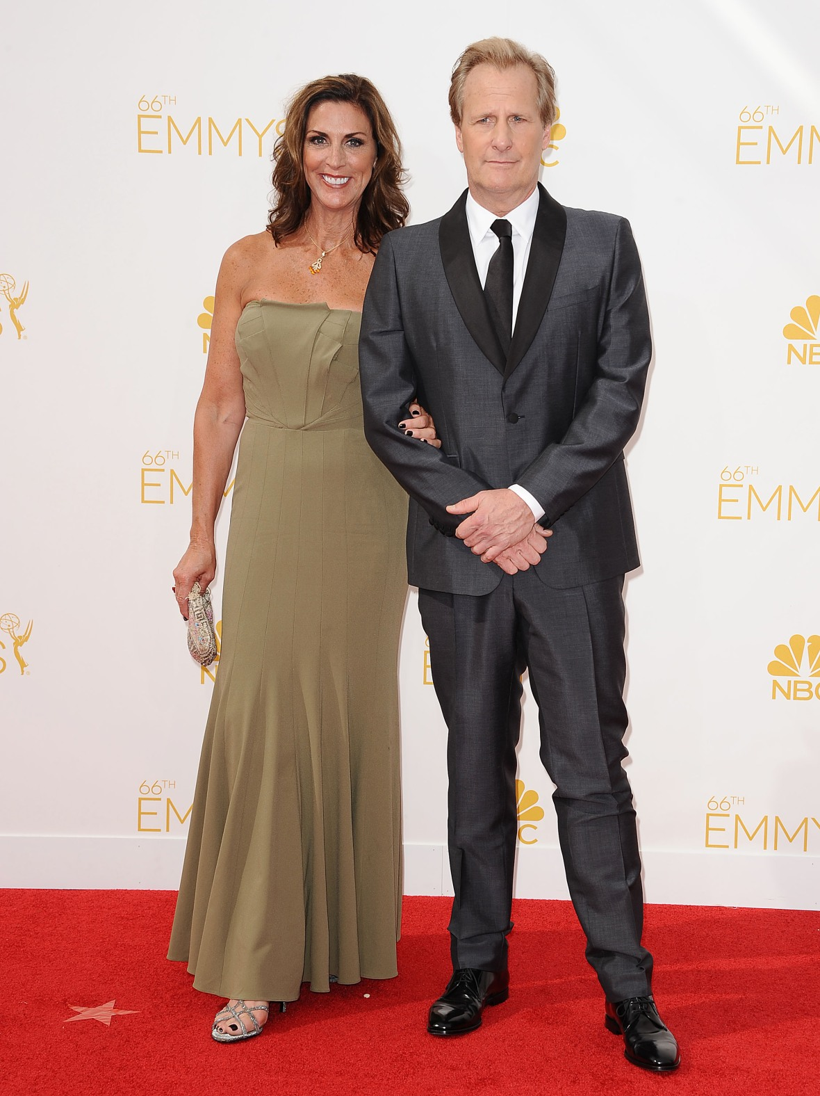 jeff daniels and his wife getty images