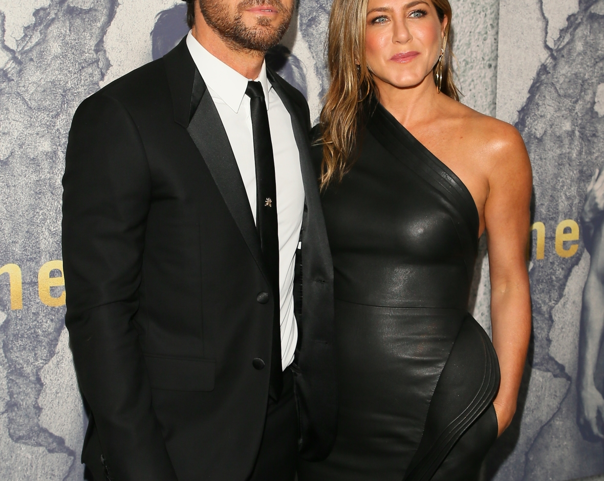 jennifer aniston justin theroux getty