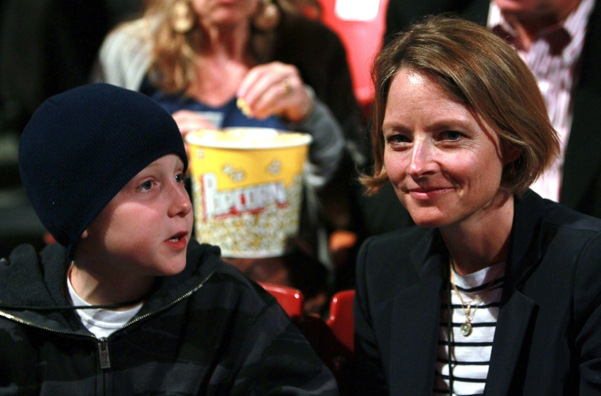 jodie foster son getty images