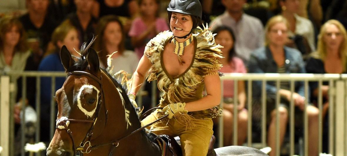 kaley cuoco - horseback