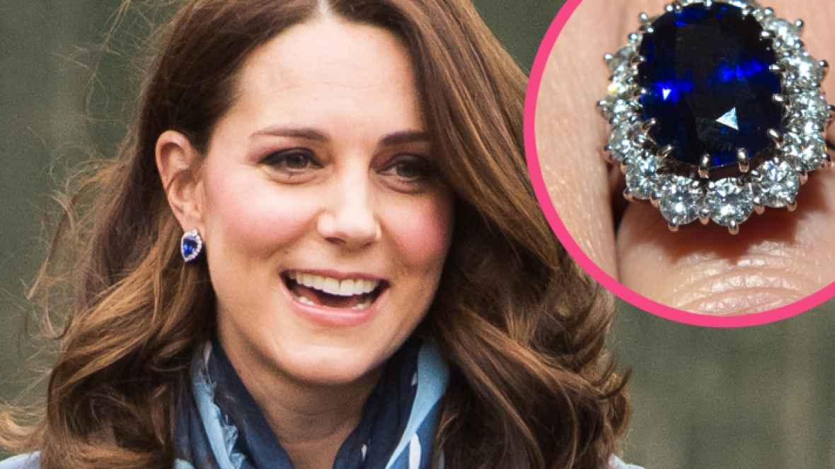kate middleton engagement ring getty images