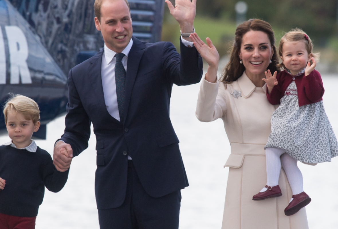 kate middleton prince william prince george princess charlotte getty images